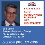 As your personal agent, I believe in keeping you informed and aware of Farmers insurance products. It is my mission to help you develop the right plans.  739 West Littleton Boulevard  Littleton, CO 80120 (303) 771-3336
